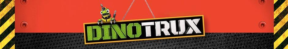 Vente en gros de vêtements et de produits de caractère Dinotrux pour les enfants.
