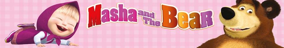 Vente en gros Masha et l'ours vêtements sous licence pour les enfants.