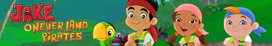Vente en gros Jake et les pirates du pays imaginaire produits de caractères sous licence pour bébés et enfants.