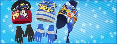 Bonnets, écharpes, gants