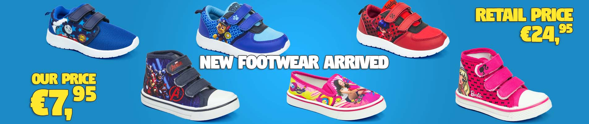 Footwear for kids wholesale.
